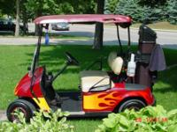 Early 1990's EZ Go electric golf cart in great
