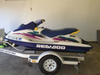 This 1996 Seadoo GSX is in excellent condition! I have