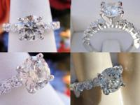 2.42CT Round Brilliant Diamond Engagement Ring GSL