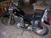 This 1985 Honda Shadow is in great condition! Only