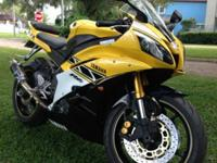 2006 YAMAHA R6 50TH ANNIVERSARY EDITION. THIS BIKE IS
