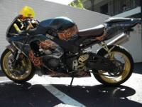 This is a custom honda cbr 929 it has a honda cbr 954