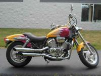 1994 HONDA MAGNA, Custom Yellow,