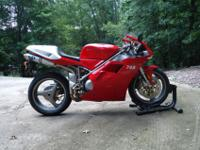 Nice example of this classic Ducati with low miles. I