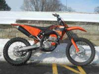 2007 KTM 250 SX-F, Orange, www.roadtrackandtrail.com we