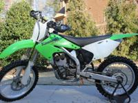 2005 kx250f. Great condition with less than 20 hours on