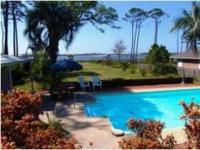 Very private on Santa Rosa Sound great water front with