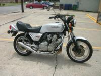1979 Honda CBX,this bike has 1480 original miles. This