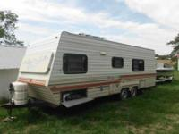 I'm selling my 1984 Corsair Camper for $2500.00 obo.