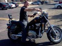I have a 1986 Honda Magna. It comes with sattle bags, a