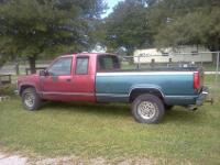 This is a 1990 Chevy 3500 Pickup truck. It has a