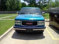I have up for sale a 1994 GMC Sierra C1500 Ext Pickup!