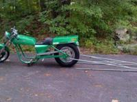 Sell Trade>>>Kawasaki custom drag bike rolling chassis