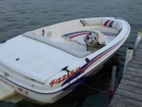 1996 Sunbird Sizzler with turbojet 115. 115hp jet boat.