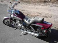 For sale; 2001 Kawasaki Vulcan 500. Very good starter