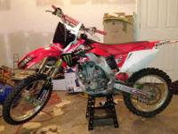 05 honda crf 250r has been very great bike hate to sell