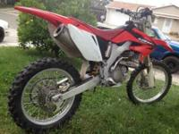 Honda 2005 CRF250X Green Sticker registerd till june