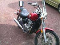 For sale is a 2006 Kawasaki Vulcan EN500 with 5,300