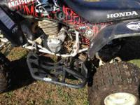 this is a 2007 honda 400ex it has brand new front and