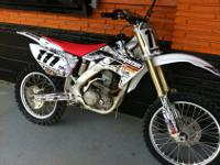 We are selling a 2008 Honda CRF250R. We are asking