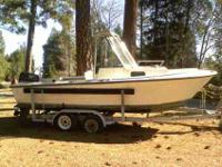 20ft.1986Proline Cutty Cabin Boat With Walk around Deck