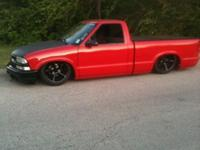 96 S-10 fully bagged and shaved. has been in