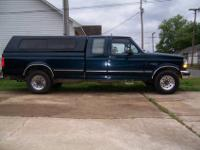 Here is a pretty nice 1997 Ford F250 Heavy Duty XLT