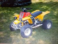 I HAVE A 97 350 YAMAHA BANSHEE, I BOUGHT IT FROM A