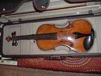 This is an excellent 4/4 violin. The tone is rich,