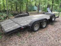 This is a custom built 20ft Heavy Duty Car Hauler with