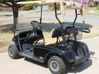 > I am offering my as new EZGO golf cart with new