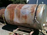 I have two 500 gallon gas tanks. They both come with