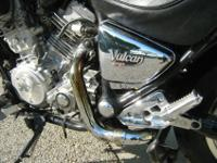 1994 Kawasaki VN 750 Vulcan with only 13570 miles! This