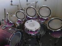 for sell are the drums and mounting rod only..only one