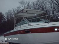 1984 Formula F242 Sports Fisherman has a hard top,