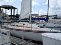 1984 Hunter 25.5 Sailboat25ft+ boat and motorHave had