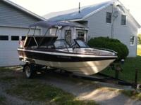 1988 Starline Cavalier 180 open bow boat for sale.