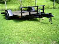 Very Heavy Duity Tilt Bed Trailer 10 Foot 8 Inchs Long