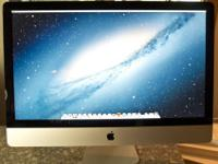 Selling the newest model 27 inch iMac that's spec'd