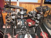 For Sale- Used Roland TD12SBK Electronic drum set.