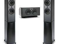 ATLANTIC TECH 6200e LCR SPEAKERS, SUBWOOFER, THX