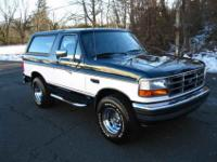 Absolutely incredible condition, this Bronco has been