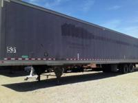 2000 Dane 53' fiberglass roof/ wood floor, air ride,