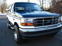 1995 Ford Bronco XLT ******Only 25,568 Actual