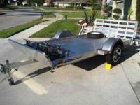 This is a great Triton 10X6 Aluminum trailer not only