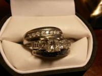 3 Rings: Certified Appraised Value $14,300 for Her's.