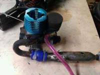2.6 nitro pull start motor. Brandnew only has maybe 10