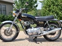 The Norton has only 2200 original miles on it. The bike