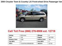2000 Chrysler Town&Country LXi Front-wheel Drive