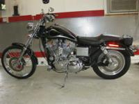 2002 HARLEY CUSTOMIZED SPORTSTER.IT HAS THE HARLEY BIG